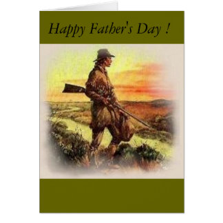 fathers day card frontiersman