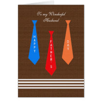 Father's Day Card -- Ties for Dad