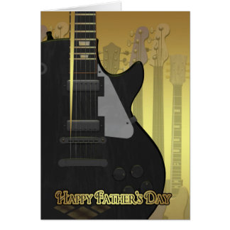 Father's Day Card With Guitar