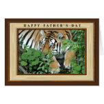 Father's Day Cards With Tigers