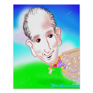 Fathers' Day Caricature Print 13a