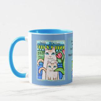 Father's Day Cat Coffee / Tea Mug