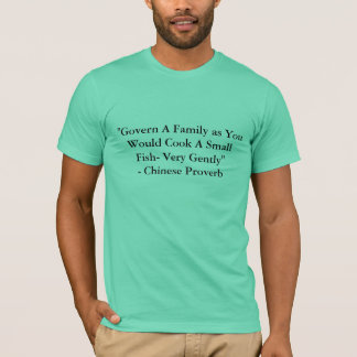 Father's Day Chinese Quotes T-Shirt