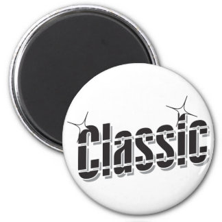 Father's Day Classic Dad 2 Inch Round Magnet