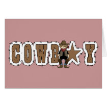 Father's Day Cowboy - Western Card