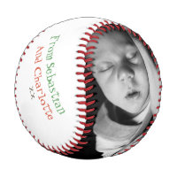 Fathers Day Custom Personalized Baseball