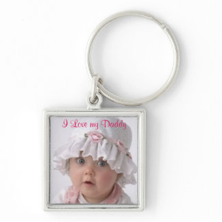 Father's Day, Custom Photo Keychain