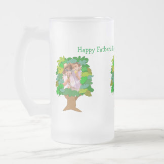 Fathers Day Customizable Photo Beer Mug Template