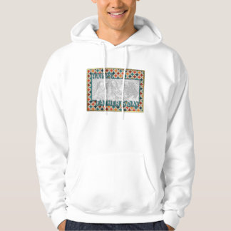 Fathers Day Cut Out ADD YOUR PHOTO Jewel Stars Hoodie