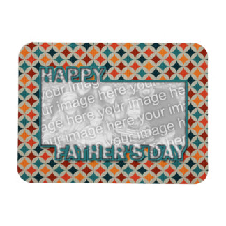 Fathers Day Cut Out ADD YOUR PHOTO Jewel Stars Magnet
