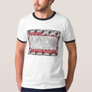 Fathers Day Cut Out ADD YOUR PHOTO Motorcycles T-Shirt