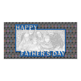 Fathers Day Cut Out ADD YOUR PHOTO Music Card