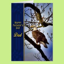Father's Day - DAD - Bald Eagle Card