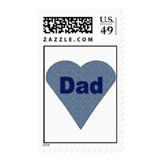 """Father's Day """"Dad"""" Stamp"""