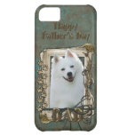 Fathers Day DAD - Stone Paws - American Eskimo Case For iPhone 5C
