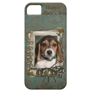 Fathers Day DAD - Stone Paws - Beagle Puppy iPhone 5 Covers