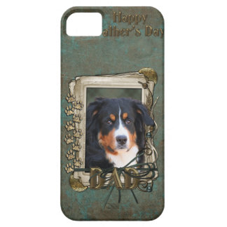 Fathers Day DAD Stone Paws - Bernese Mountain Dog iPhone SE/5/5s Case