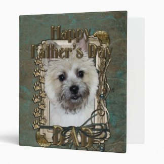 Fathers Day DAD - Stone Paws - Cairn - Teddy Bear Binders