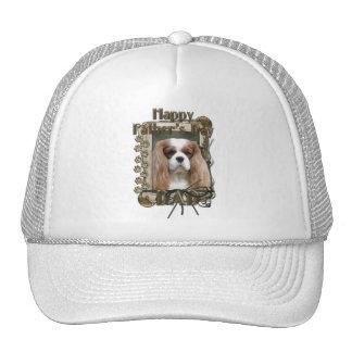 Fathers Day DAD - Stone Paws - Cavalier - Blenheim Trucker Hat