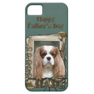 Fathers Day DAD - Stone Paws - Cavalier - Blenheim iPhone SE/5/5s Case