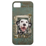 Fathers Day DAD - Stone Paws - Dalmatian iPhone 5 Case