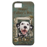 Fathers Day DAD - Stone Paws - Dalmatian iPhone 5 Cover