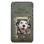 Fathers Day DAD - Stone Paws - Dalmatian Barely There iPod Covers