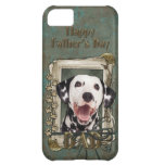 Fathers Day DAD - Stone Paws - Dalmatian iPhone 5C Case