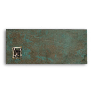 Fathers Day DAD Stone Paws - French Bulldog - Teal Envelope
