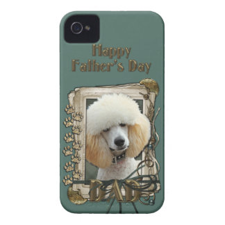 Fathers Day DAD - Stone Paws - Poodle - Apricot Case-Mate iPhone 4 Case