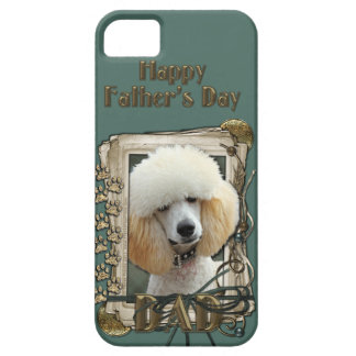 Fathers Day DAD - Stone Paws - Poodle - Apricot iPhone SE/5/5s Case