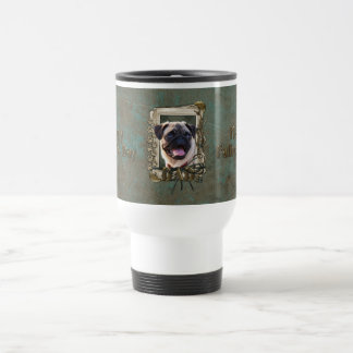 Fathers Day DAD - Stone Paws - Pug Coffee Mugs