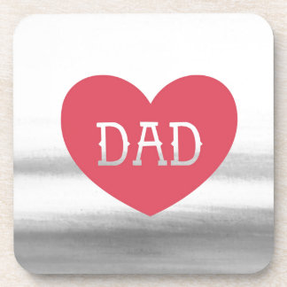 Father's day Dad, super dad, Best dad, Drink Coaster