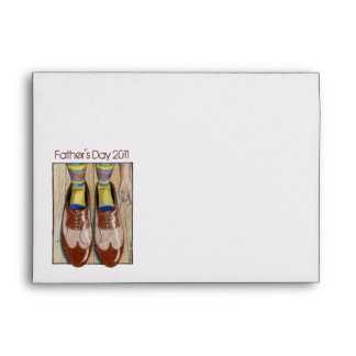 Father's Day Daddy's Shoes Envelope