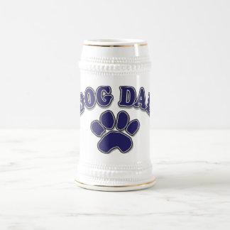 Father's Day dog Dad Beer Stein