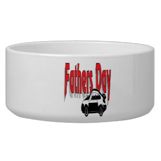Fathers Day Dog Food Bowl