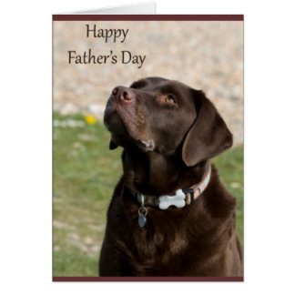 Fathers Day Doggy Card