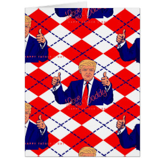 fathers day donald trump card