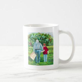 Father's Day drawing art Coffee Mug
