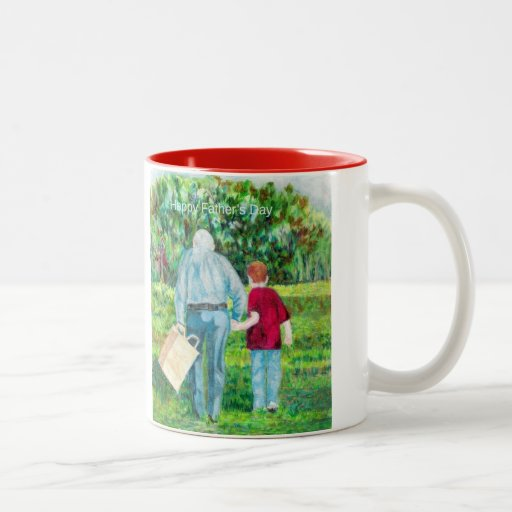 Father's Day drawing art Coffee Mugs