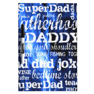 Father's Day Dry-Erase Board