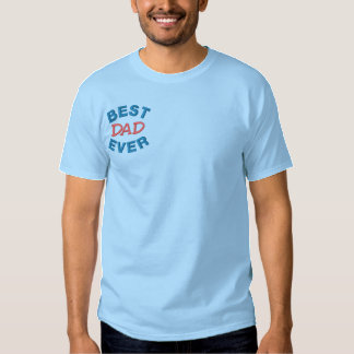 Father's Day  Embroidered Embroidered T-Shirt