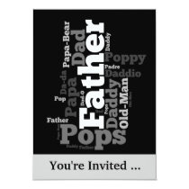 Father's Day Event Invitation
