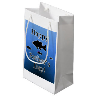 Father's Day Fish Small Gift Bag