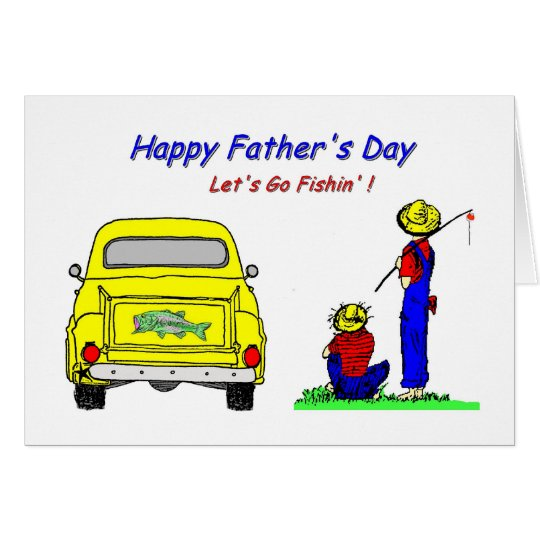 Fathers Day Fishin Card