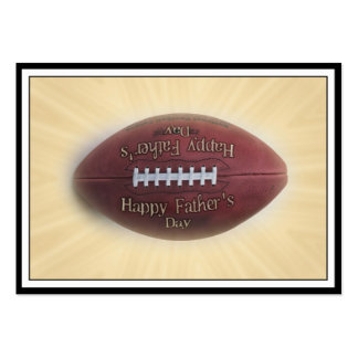 Father's Day Football Business Card Templates