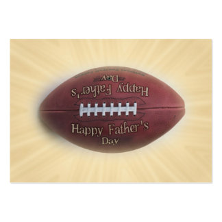 Father's Day Football Business Cards