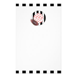 Father's Day Football Referee Frame Stationery