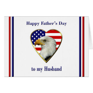 Father's Day for Military Husband Card