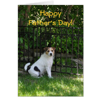 Fathers Day from the Dog Card